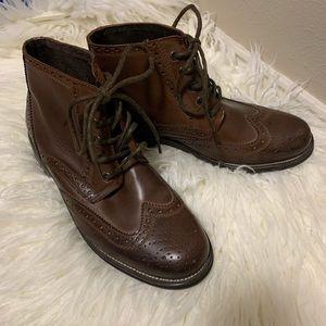 Men's Steve Madden  Evander wingtip brogue boots